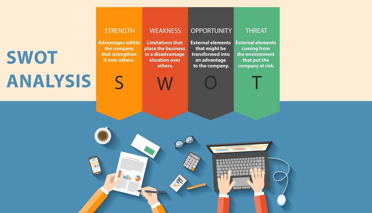 swot analysis of hal Latar belakang dunia bisnis dalam era global ini dihadapkan pada proses perubahan yang begitu cepat dan rumit untuk itu kebutuhan akan perubahan yang dinamis dalam berbagai hal seperti visi, misi, tujuan dan sistem berpikir menjadi hal pokok yang harus dimiliki perusahaan dalam konteks organisasi belajar,.