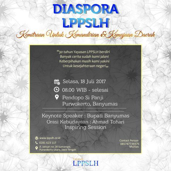 Bakti Diaspora LPPSLH Untuk Negeri Bersama Bupati Banyumas