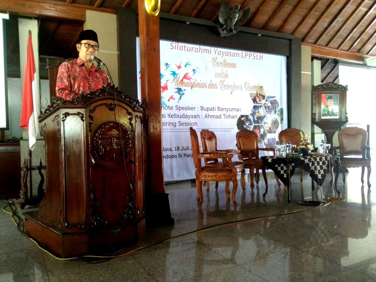 Silaturahmi Diaspora Yayasan LPPSLH Ingatkan Kita Pentingnya Kemajuan dan Kemandirian Daerah
