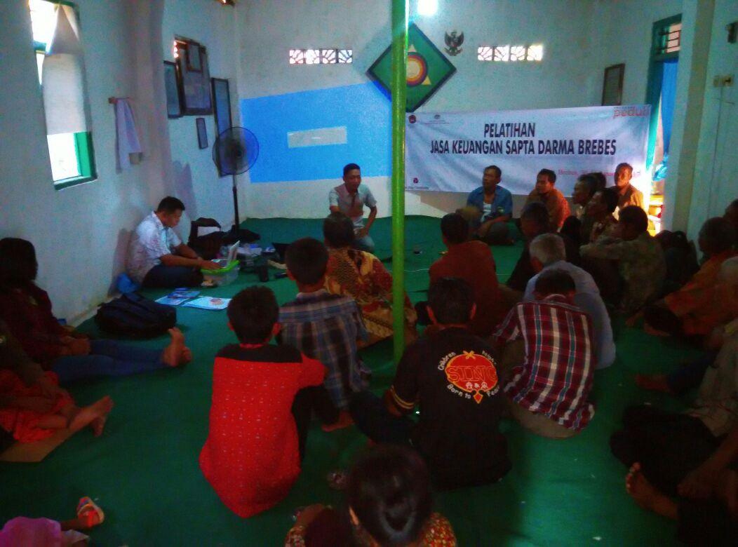 Pelatihan Jasa Keuangan Untuk Komunitas Sapta Dharma Di Brebes