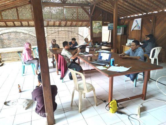 Diskusi Capaian Hasil Pemeriksaan Kesehatan Komunitas (VCT)