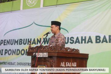 Direktorat Jenderal Industri Kecil Menengah Berpartisipasi Aktif Melaksanakan Penumbuhan Wirausaha Baru Di Lingkungan Pondok Pesantren